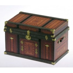 Lithograph Wooden Trunk Kit Western 1