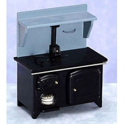 Wood Stove Black Cb
