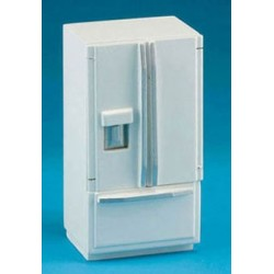 Modern Refrigerator Bottom Freezer White