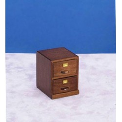 Small File Cabinet Walnt Cb