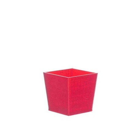 Office Trash Can Red