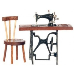 Sewing Machine W Chair