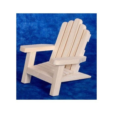 Adirondack Chair Pine Dollhouse Outdoor Chairs Superior