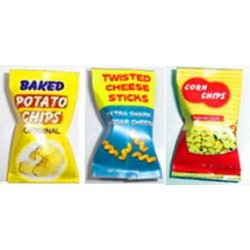 Snack Set No2-Baked Twisted Corn-Bags