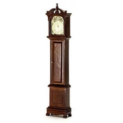 Grandfather Clock Walnut Cb
