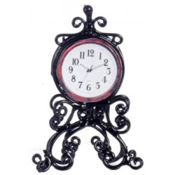 Mantle Clock Black