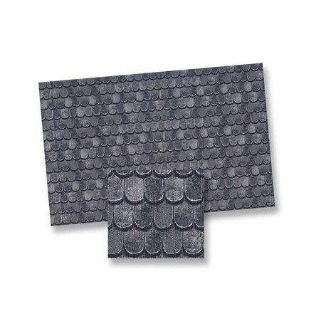 Slate Roof Material Sheet Dollhouse Roofing Amp Shingles