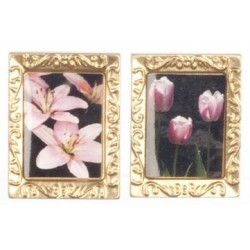 Small Gold Rect Frames 2