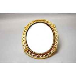 Gold Framed Mirror Asst