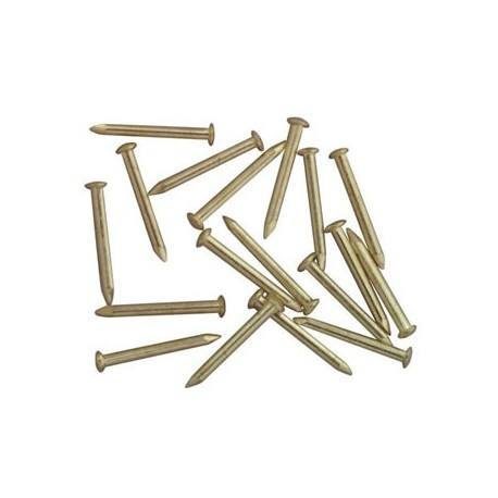 "Mini nails 1//4/"" brass dollhouse miniature hardware CLA05678"