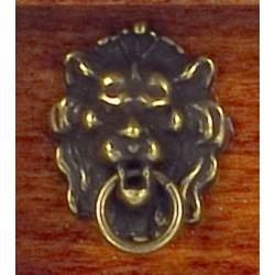 Lion Head Knocker Antique