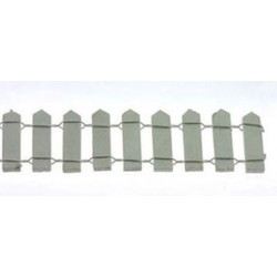 1 Inch White Picket Fence 18 Inches Long