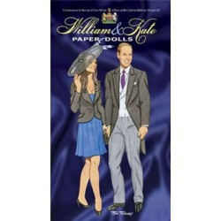 Tierney - William And Kate Paper Dolls