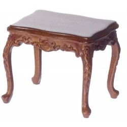 Walnut Rococo Side Table