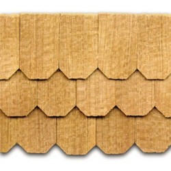 Cedar Hexagon Shingles 140 pack