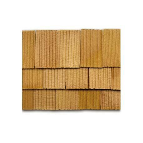 Cedar Rectangle Shingles 300 pack