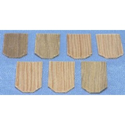 Cedar Hexagon Shingles 300 pack
