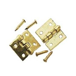 DOOR HINGE (6/PK W/ 24 NAILS)