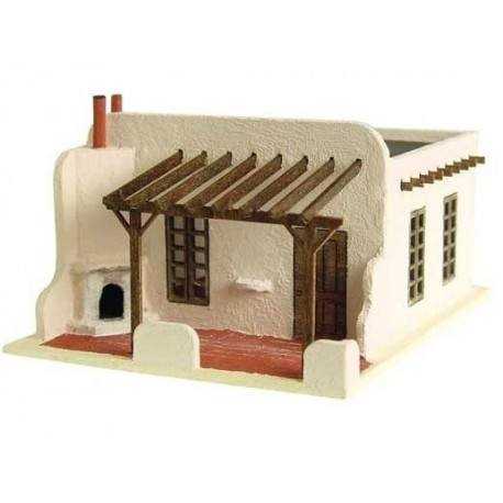 The Adobe House Kit 1 144th Scale Dollhouse Other Scales