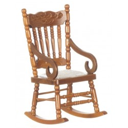 WALNUT-ROCKING CHAIR