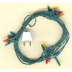 24BULB XMAS STRING(COLOR) MICRO BULB/2MM