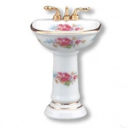 Dresden Rose Bathroom Sink