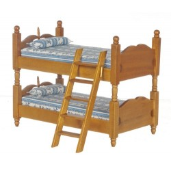 Bunkbeds/ladder/walnt/cb