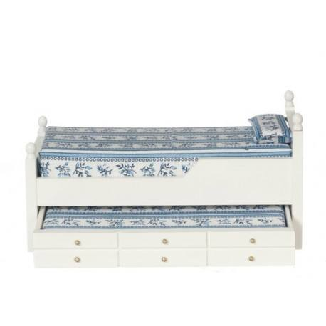 Trundle Bed/white