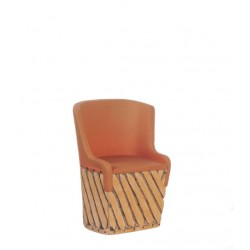 Mex.equipale Barrel Chair