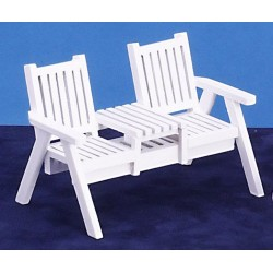 Lawn Loveseat/white