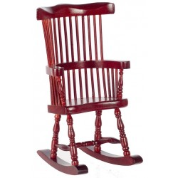 Windsor Rocker/Mahogany