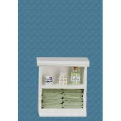 Small Bath Cabinet/green