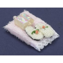 Towel Set w/lotion/pink