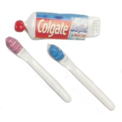 Toothpaste & 2 Brushes