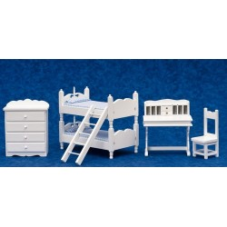 Bunkbed Set/5/blue Fab
