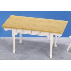 Vermont Table/white/oak