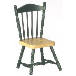 Side Chair/oak/green