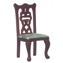 Side Chair/Mahogany/grn