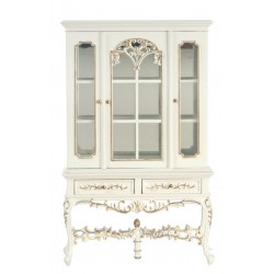Display Cabinet/white/h.p