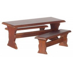 Table/2 Benches/cb