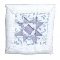 White/purple Star Pillow*