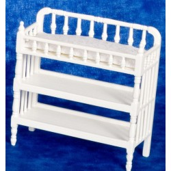 Victorian Changing Table/white
