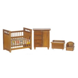 Nursery Set/4/Walnut