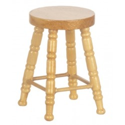 Oak Wooden Stool