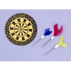 Dart Board w/darts