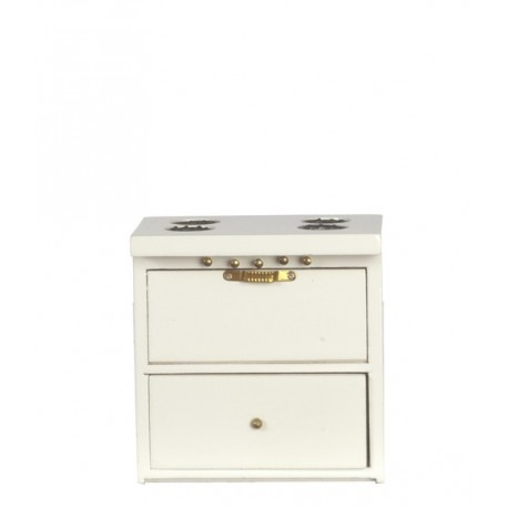 Kitchen Stove/white/cb