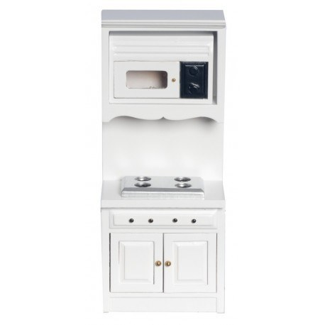 Oven w/microwave/white
