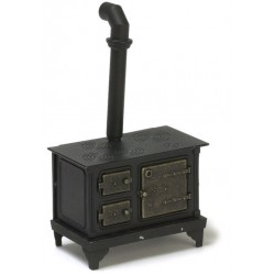Black Metal Stove/cb