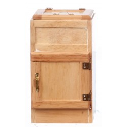 2-door Ice Box/oak/cb