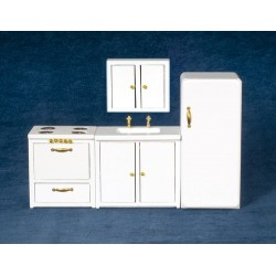 Modern Kitchen Set/4/wht